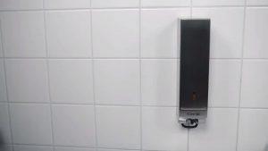 CWS Paslanmaz Çelik Antibakteriyel Sıvı Sabun Aparatı